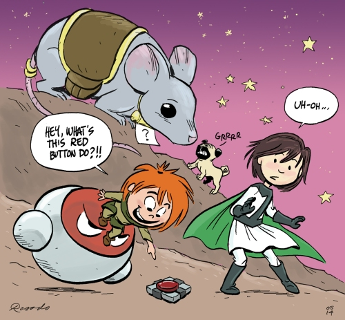 A little Claudette=Zita crossover!