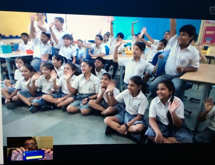 4th grade Aga Khan Academy, Hyderabad