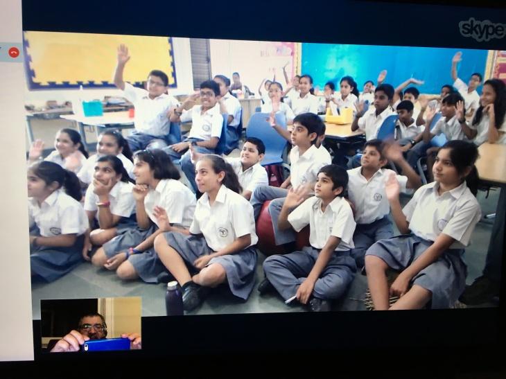 5th grade Aga Khan Academy, Hyderabad